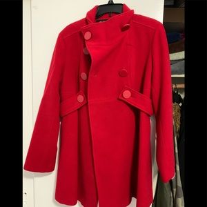 Red winter coat (large)